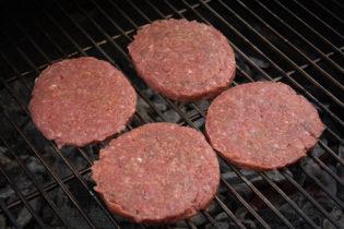 Burger Parties aus Rindfleisch