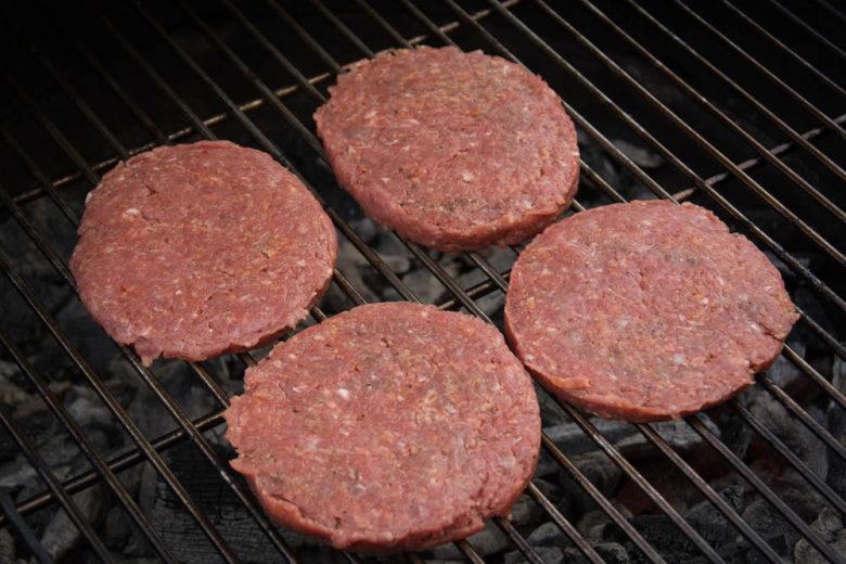 Burger Parties aus Rindfleisch (Burger Set)