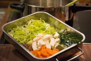 Gemüse für die Brine