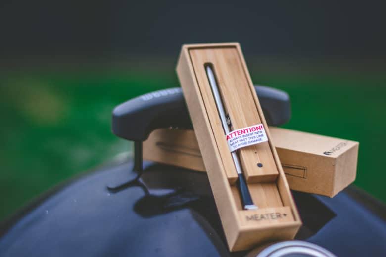 MEATER+ Holzblock Bluetooth Repeater für bis zu 50m Reichweite
