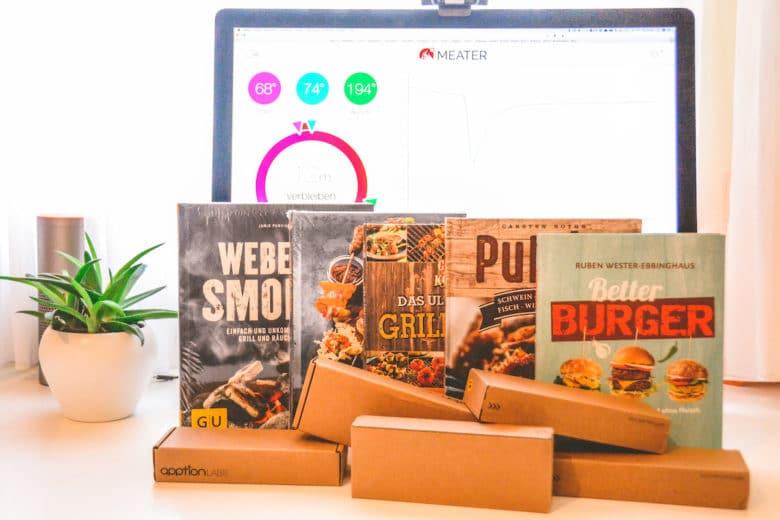 MEATER+ Gewinnspiel: 5x einen MEATER+ und ein Grillbuch gewinnen
