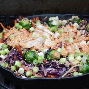 Teriyaki Chicken Bowl aus dem Dutch Oven