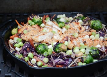 Teriyaki Chicken Bowl aus dem Dutch Oven