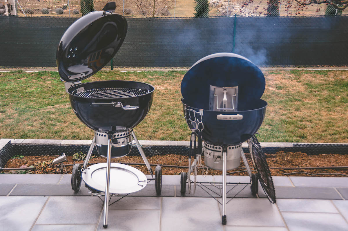 Weber Elektrogrill Lafer Edition : Kugelgrill testbericht weber master touch gbs premium