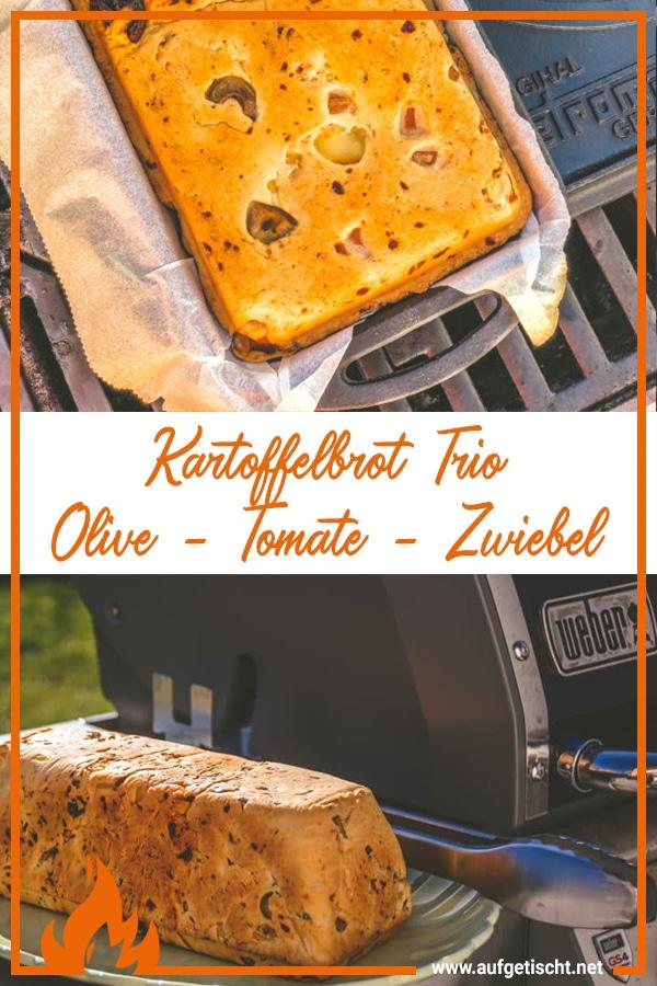 Kartoffelbrot Trio aus dem Dutch Oven - kartoffelbrot trio - 12