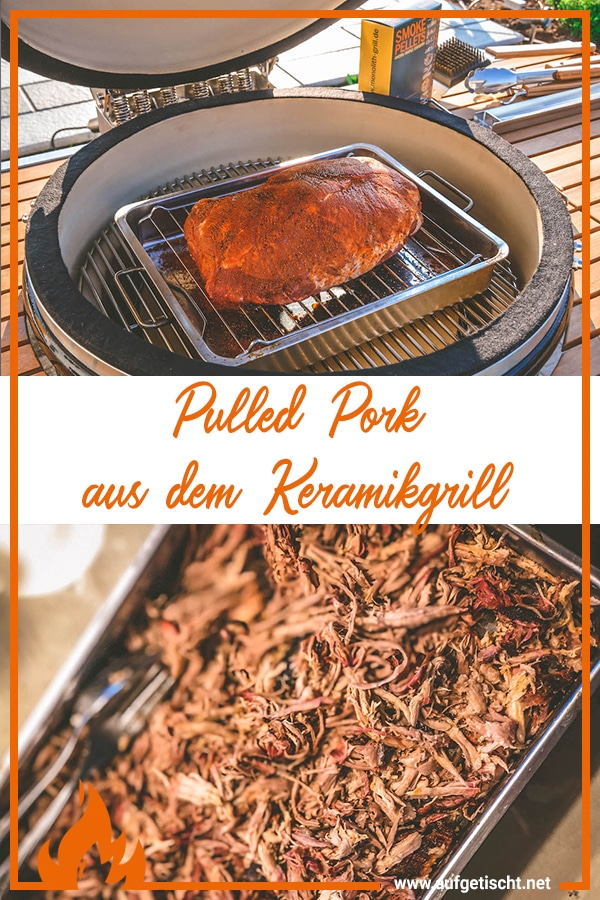 Pulled Pork aus dem Keramikgrill - pulled pork - 28