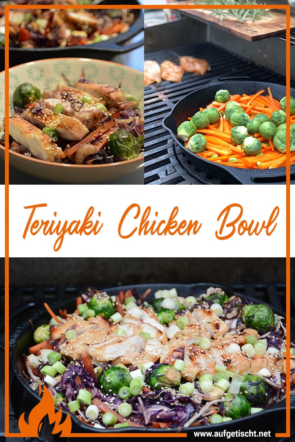 Farbenfrohe Teriyaki Chicken Bowl - teriyaki chicken bowl - 16