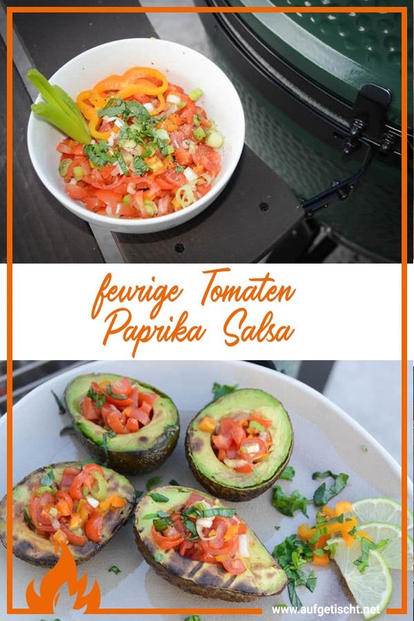 Feurige Tomaten Paprika Salsa - tomaten paprika salsa - 7