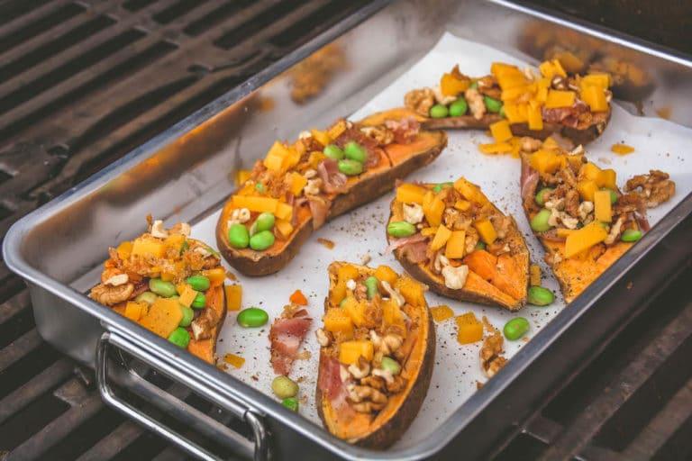Überbackene Süßkartoffeln vom Grill - überbackene süßkartoffel 2 - 9