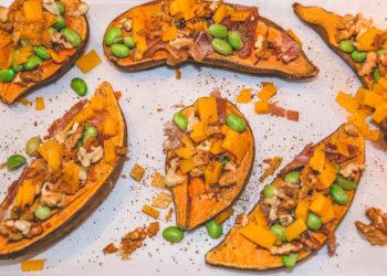 Überbackene Süßkartoffeln vom Grill - überbackene süßkartoffel 5 - 5