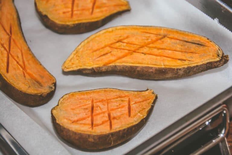 Überbackene Süßkartoffeln vom Grill - überbackene süßkartoffel - 7