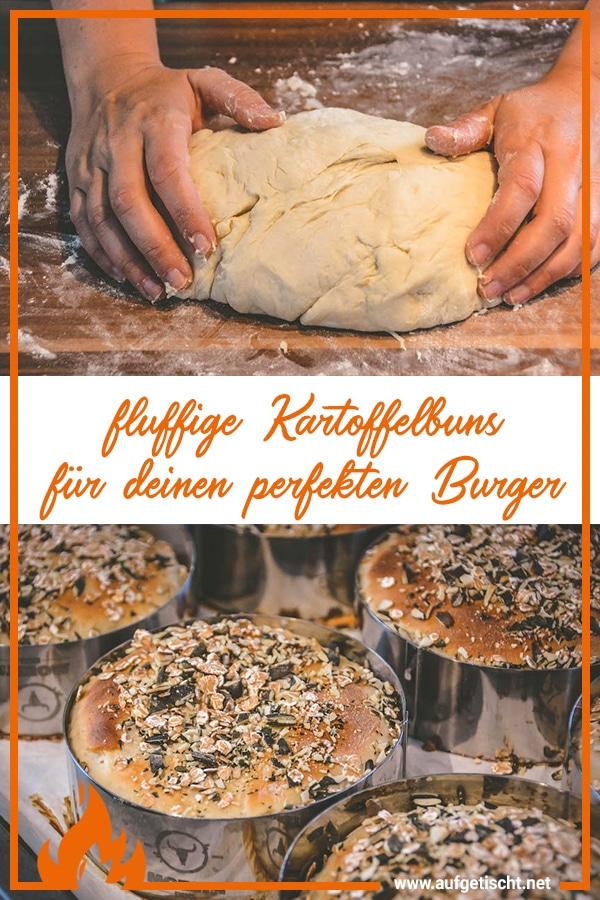 Kartoffelbuns - Perfekte Burger Buns aus fluffigem Kartoffelteig - kartoffelbuns - 26