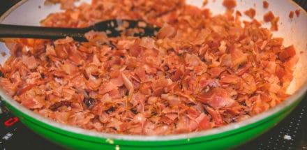 Bacon Jam - die crunchy Speckmarmelade mit Whisky - bacon jam 001 - 12