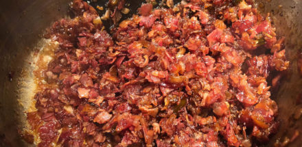 Bacon Jam - die crunchy Speckmarmelade mit Whisky - bacon jam 013 - 18