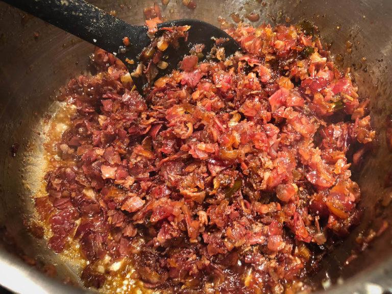 Bacon Jam - die crunchy Speckmarmelade mit Whisky - bacon jam 013 - 21