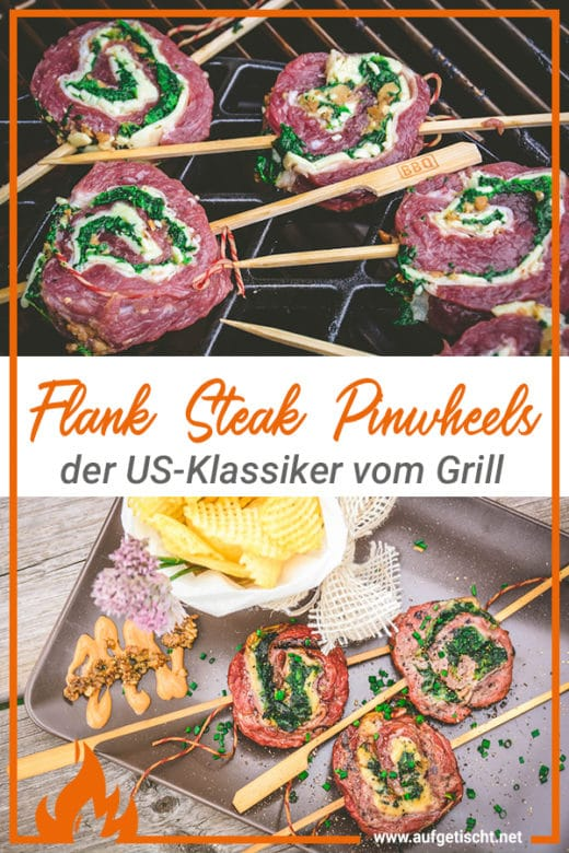 Gefüllte Flank Steak Pinwheels - flank steak pinhweels - 31