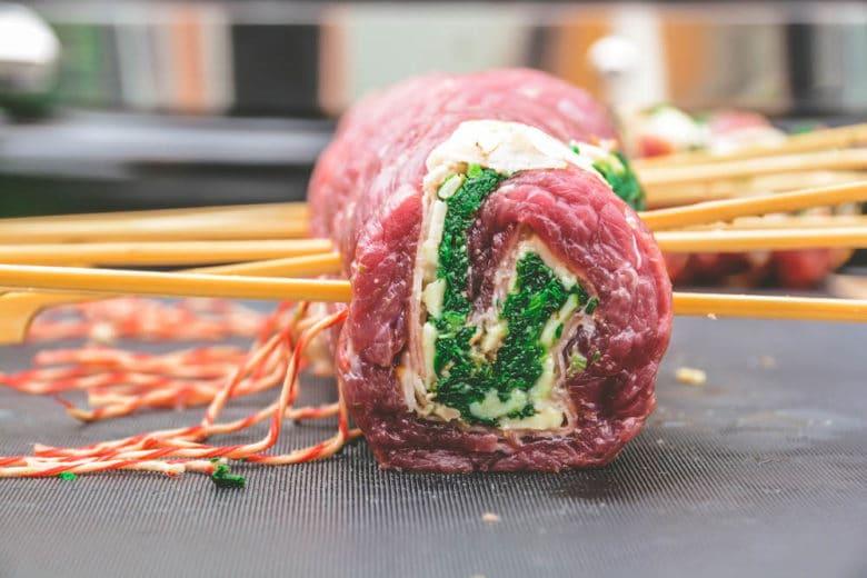 Gefüllte Flank Steak Pinwheels - flank steak pinwheels 011 - 6