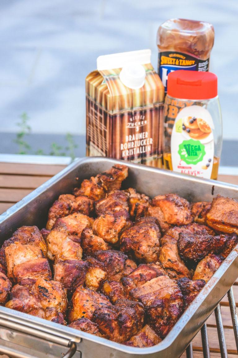 Pork Belly Burnt Ends - saftige Schweinebauch Nuggets - pork belly burnt ends 06 - 25