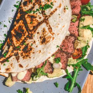 Guacamole Rezept - frische Avocadocreme - rumpsteak texaslonghorn wrap 005 - 2