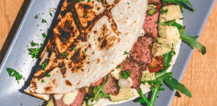 Rumpsteak Wrap mit Avocadocreme - rumpsteak texaslonghorn wrap 005 - 26