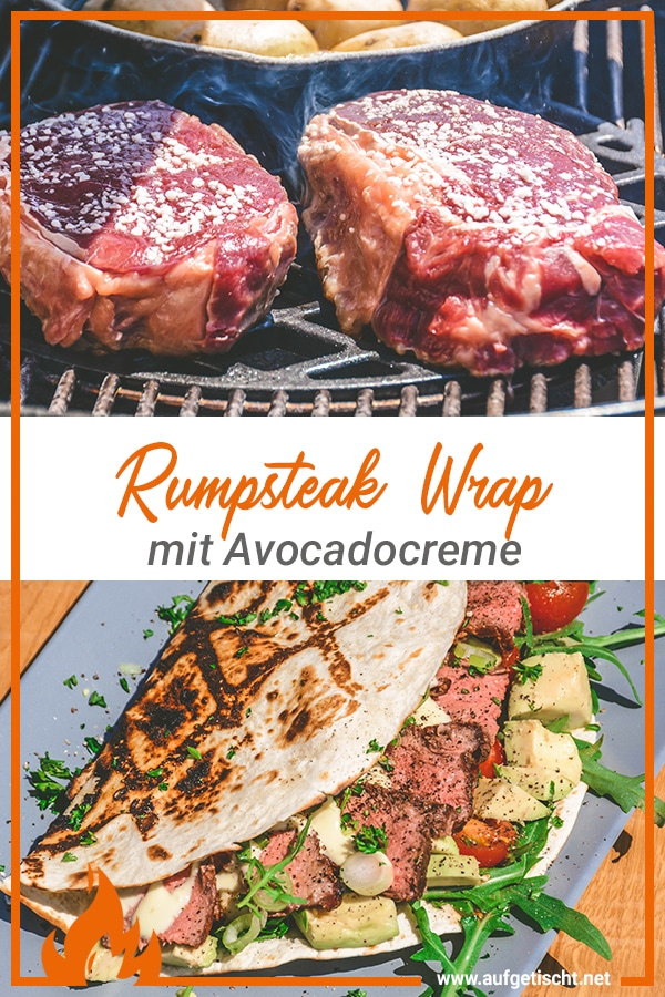 Rumpsteak Wrap mit Avocadocreme - rumpsteak wrap - 29
