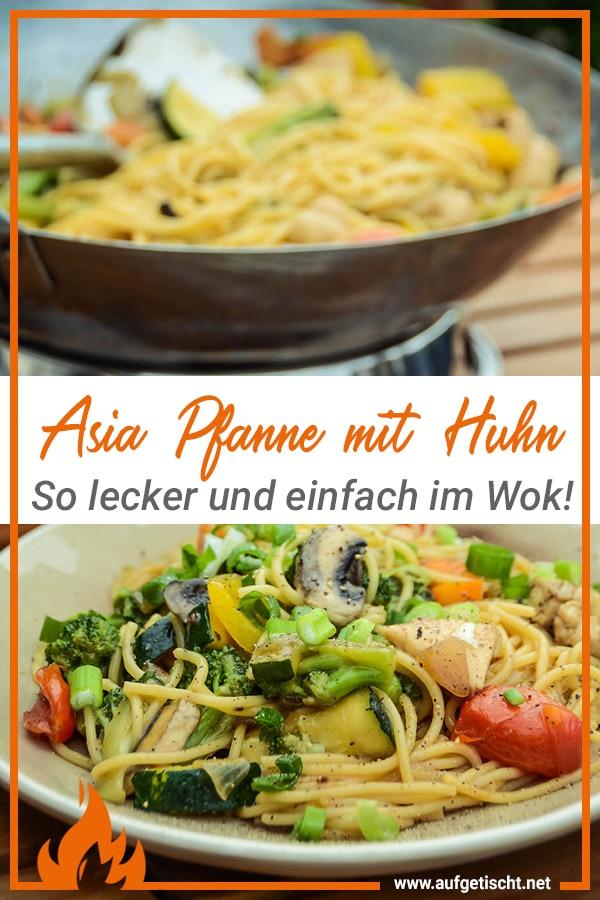 Wok vom Grill - lecker, leicht & abwechslungsreich unsere Asiapfanne - asiapfanne wok 2 - 23