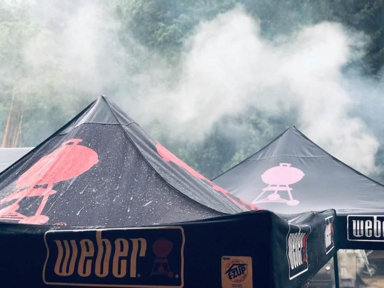 Das perfekte Faltzelt für Bewerbe, Grillkurse und Caterings - smoke on the water 030 1 - 8