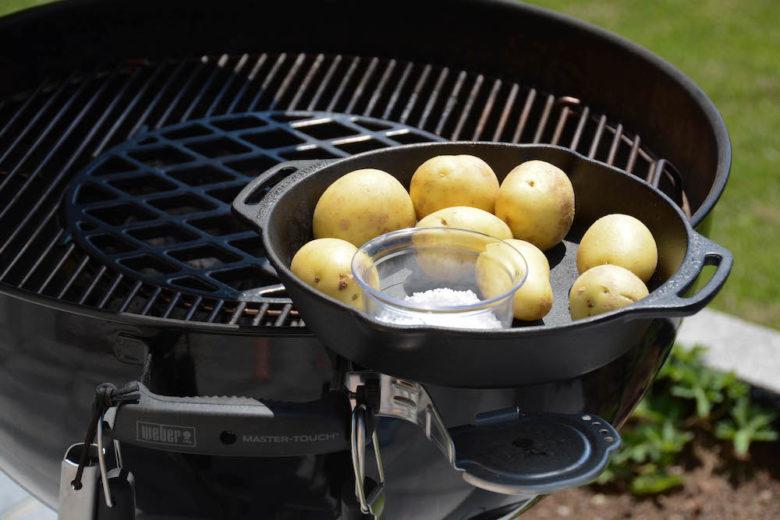 "Kartoffeln mit Salzkruste vom Grill - ""Papas arrugadas"" - salzkartoffeln 005 - 2"