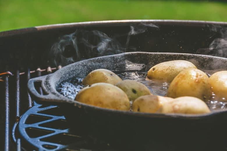 "Kartoffeln mit Salzkruste vom Grill - ""Papas arrugadas"" - salzkartoffeln 010 - 7"