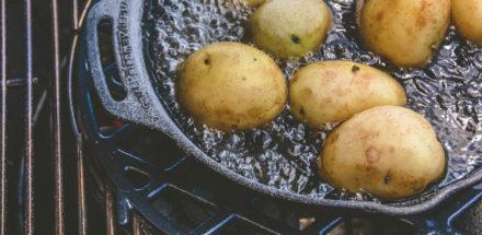 "Kartoffeln mit Salzkruste vom Grill - ""Papas arrugadas"" - salzkartoffeln 011 - 15"