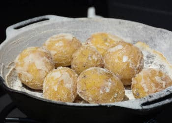 "Kartoffeln mit Salzkruste vom Grill - ""Papas arrugadas"" - salzkartoffeln 021 - 11"
