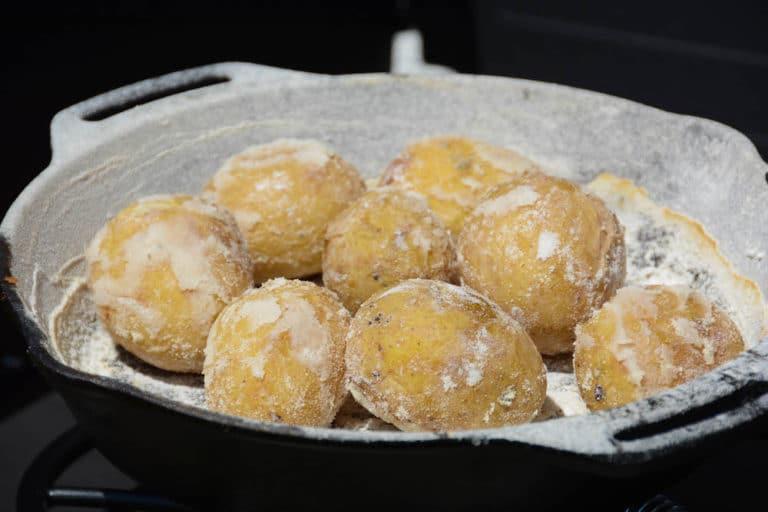 "Kartoffeln mit Salzkruste vom Grill - ""Papas arrugadas"" - salzkartoffeln 021 - 19"