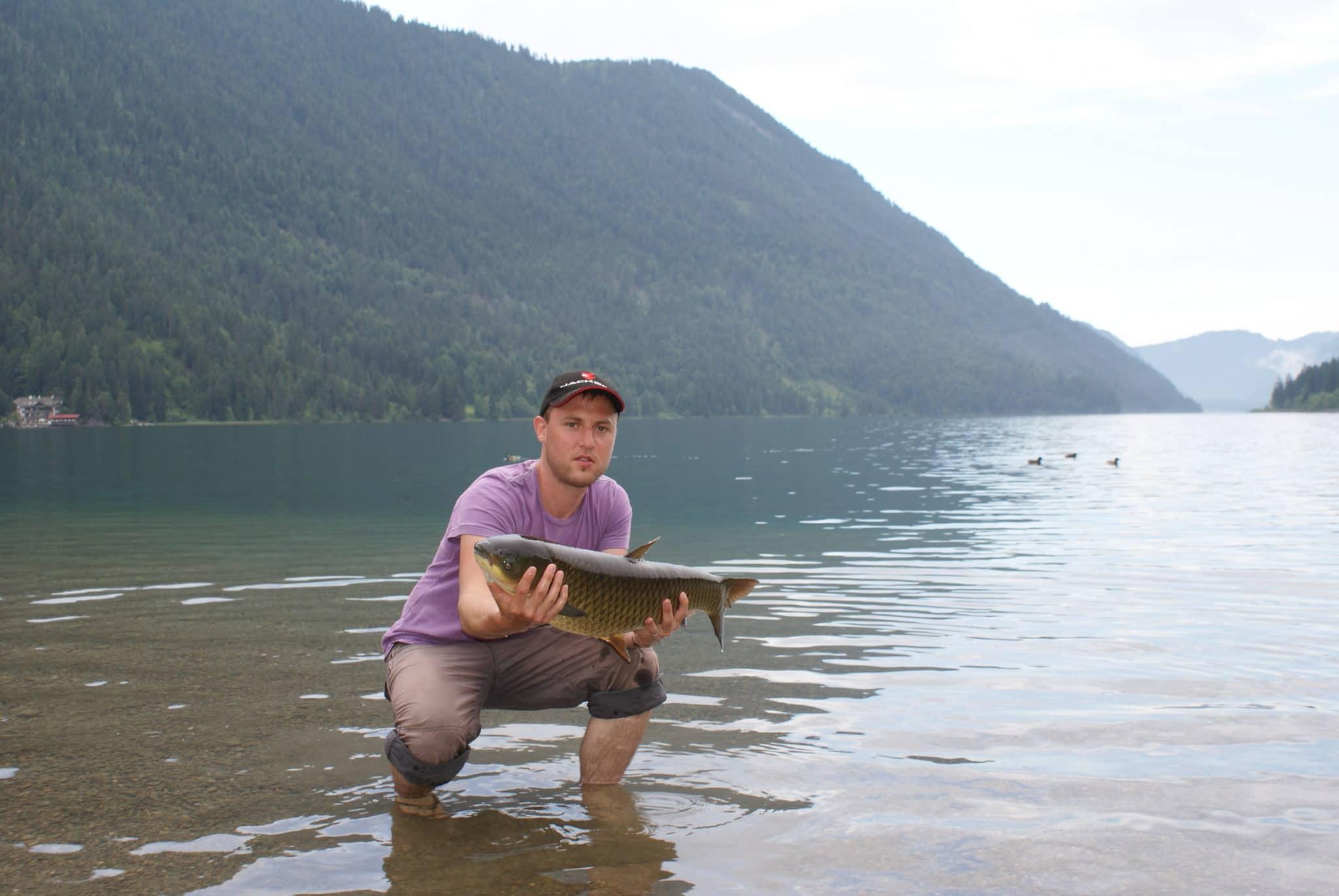 Fischen am Weissensee