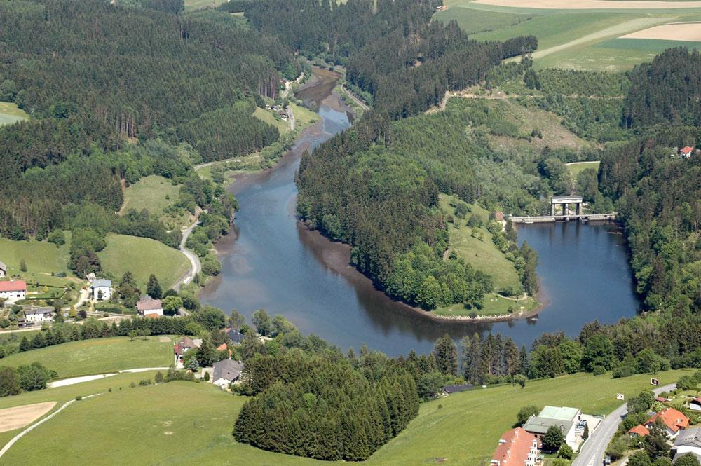 Der Stausee Neufelden - Die Große Mühl