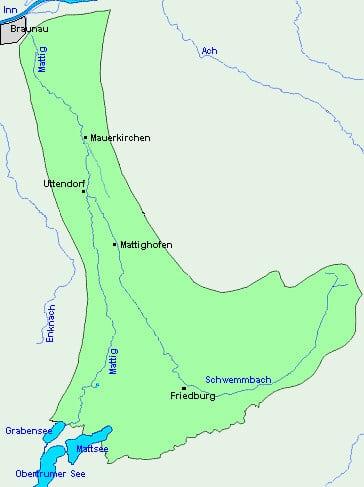 Gewässerkarte Mattig