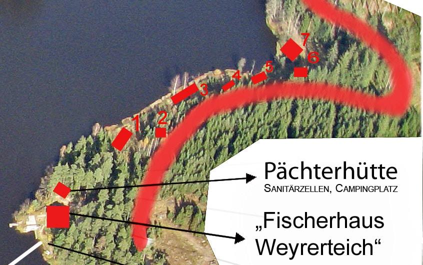 campingdetail Weyrerteich Neuhof