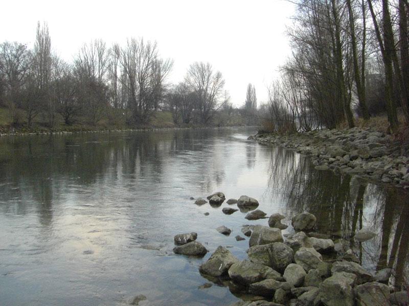 Donaukanal Wien im dritten Bezirk
