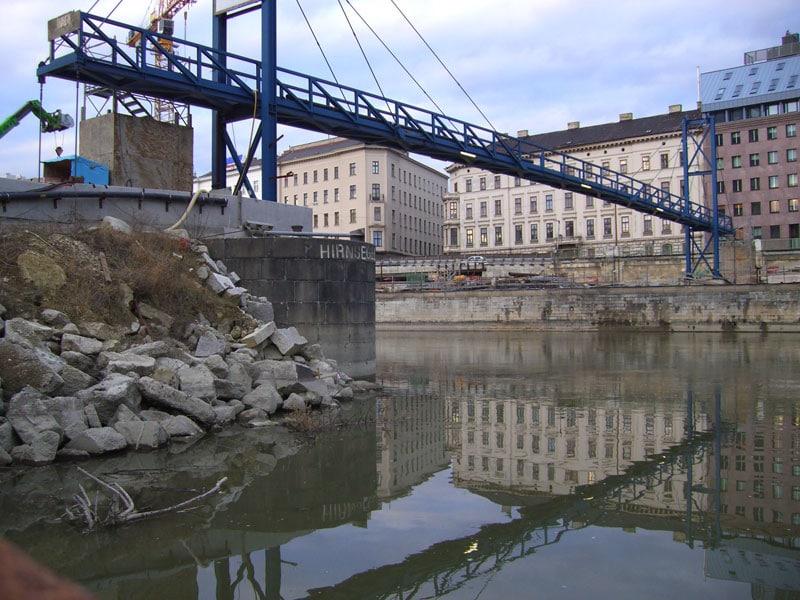 Kaiserbadschleuse Donaukanal Wien
