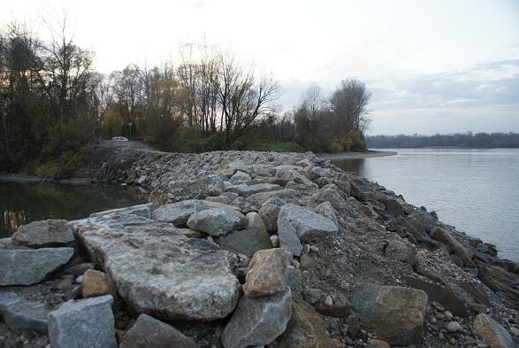 Angeln am Donau Wiesinger Wasser Enns