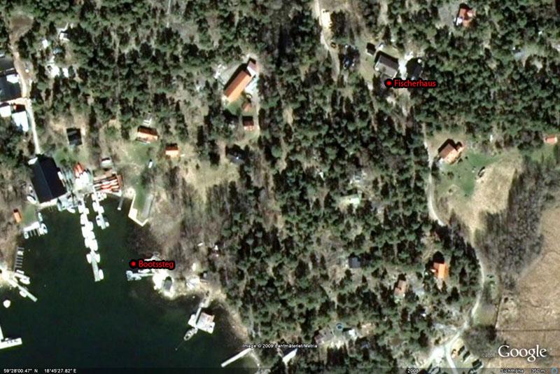 Ingmarsö (Schärengarten) Karte