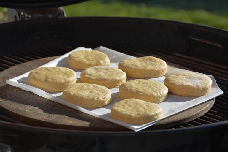 Klassische Scones vom Pizzastein - scones rezept 16 - 17