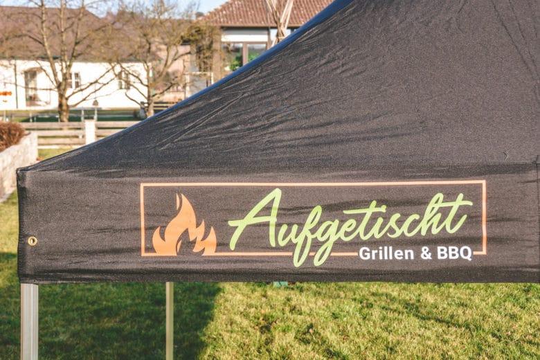 Das perfekte Faltzelt für Bewerbe, Grillkurse und Caterings - grillpavillon grillzelt 06 - 24