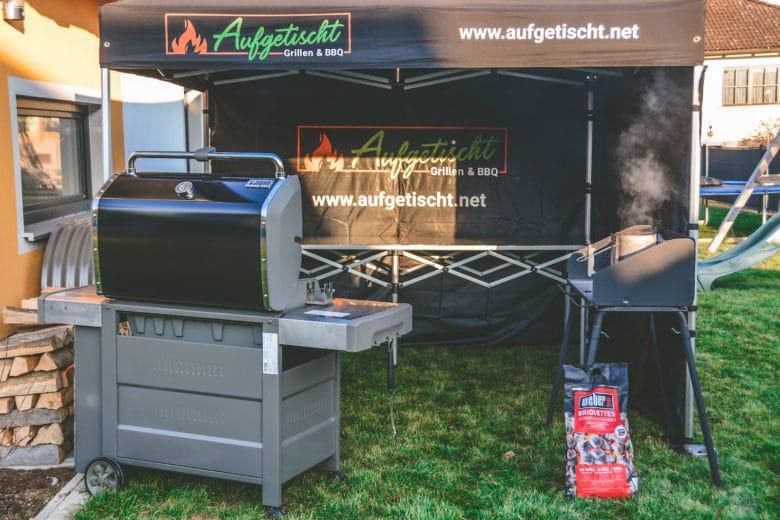 Das perfekte Faltzelt für Bewerbe, Grillkurse und Caterings - grillpavillon grillzelt 13 - 38