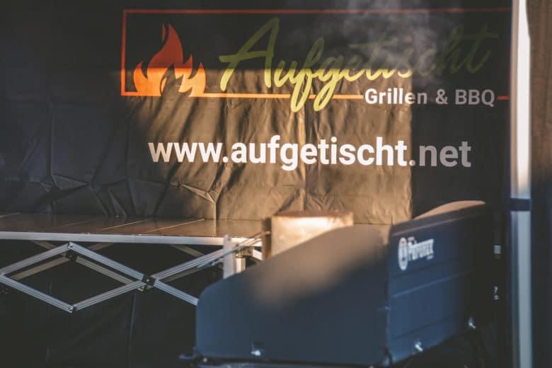 Das perfekte Faltzelt für Bewerbe, Grillkurse und Caterings - grillpavillon grillzelt 14 - 40