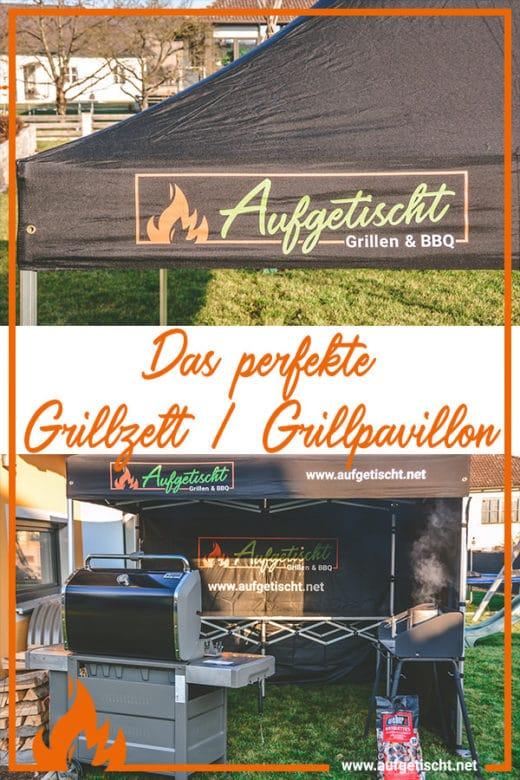 Das perfekte Faltzelt für Bewerbe, Grillkurse und Caterings - grillpavillon grillzelt 600X900 - 50