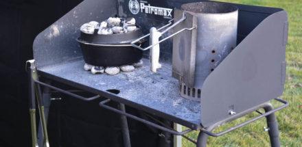 Petromax Tisch fürs Joghurtbrot im Dutch Oven