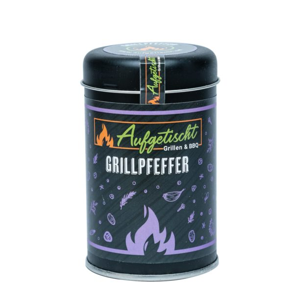 Grillpfeffer - aufgetischt gewuerze grillpfeffer 01 - 2