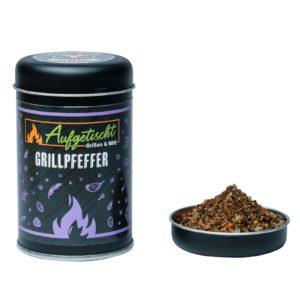 Geschmorter Butternuss Kürbis pikant gefüllt - aufgetischt gewuerze grillpfeffer 02 - 10