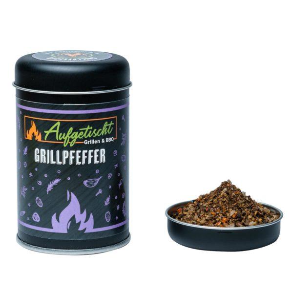 Grillpfeffer - aufgetischt gewuerze grillpfeffer 02 - 1