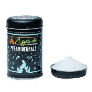 Geschmorter Butternuss Kürbis pikant gefüllt - aufgetischt gewuerze pyramidensalz 02 - 12
